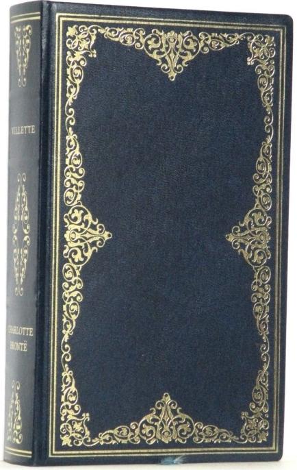 villette book bronte leather